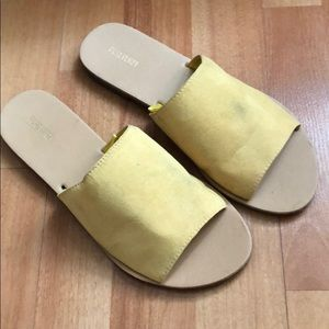 Forever 21 Yellow Sandals